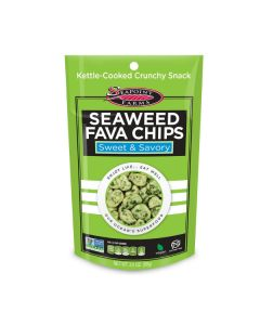 Seaweed Fava Chips 3.5 oz (99 g)
