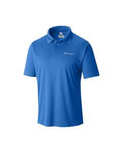 Columbia Men's Zero Rules Polo Shirt - S (Hyper Blue)