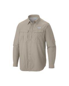 Columbia Men's Cascades Explorer Long Sleeve Shirt - XL (Fossil)