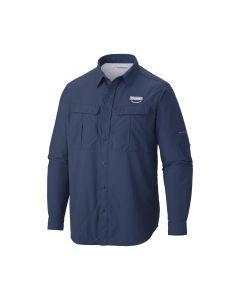 Columbia Men's Cascades Explorer Long Sleeve Shirt - XL (Blue)