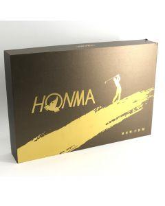 HONMA 高爾夫球金色禮盒