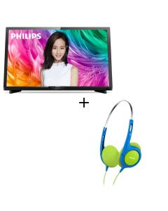 "Philips - 24"" Full HD Ultra Slim LED Smart TV 24PFD5022 No Free Installation 24PFD5022"