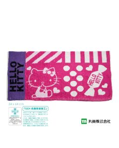 Marushin - Sanrio ® Hello Kitty Towel Pillow Cover (Pink) 3005011500