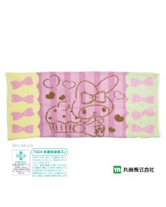 Marushin - Sanrio ® My Melody Towel Pillow Cover (Light Pink) 3005030500
