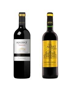 Malbat - Malbat Bordeaux精選紅酒系列 : Optmus 2014 + Larquey 2015 3760212130472-0