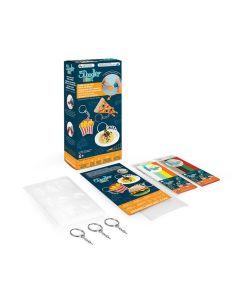 3Doodler - Food Keyring Kit 3DS-8SMKFOOD3R