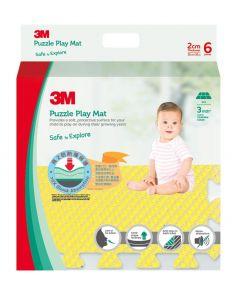 3M™ 兒童安全地墊-方塊型 (黃色)
