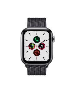 APPLE WATCH SERIES 5 (GPS + 流 動 網 絡) 44MM 太 空 黑 不 鏽 鋼 錶 殼 配 太 空 黑 鋼 織 手 環 4009761