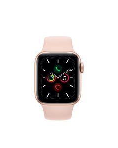 APPLE WATCH SERIES 5 (GPS + 流 動 網 絡)  40MM 金色鋁金屬錶殼配淺粉紅色運動手環 4009801