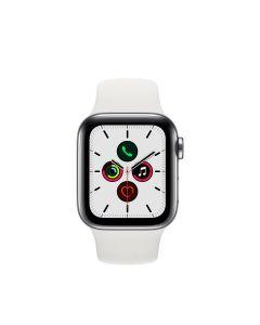 APPLE WATCH SERIES 5 (GPS + 流 動 網 絡 ) 40MM 不鏽鋼錶殼配白色運動錶帶 4009821