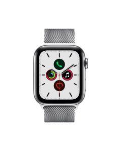 APPLE WATCH SERIES 5 (GPS + 流 動 網 絡 ) 40MM 不 鏽 鋼 錶 殼 配 鋼 織 手 環 4009831