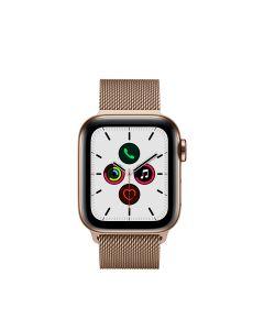 APPLE WATCH SERIES 5 (GPS + 流 動 網 絡 ) 40MM 金 色 不 鏽 鋼 錶 殼 配 金 色 鋼 織 手 環 4009851