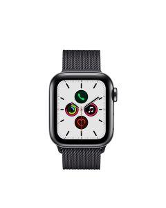 APPLE WATCH SERIES 5 (GPS + 流 動 網 絡) 40MM 太 空 黑 不 鏽 鋼 錶 殼 配 太 空 黑 鋼 織 手 環 4009871
