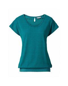 Vaude 女裝Skomer T-Shirt II 藍綠色 - Size 38 4052285412746