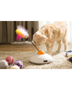 PAWBO INTERACTIVE CAT TEASER PARTY SET WHITE 4108271