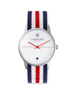 NOERDEN LIFE NATO HYBRID SMART WATCH (FRENCH RED)