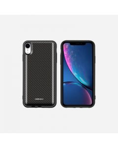 MOMAX Q.POWER PACK MAGNETIC WIRELESS CHARGING CASE 5000MAH (FOR IPHONE XR) CARBON FIBER PATTERN 4140081