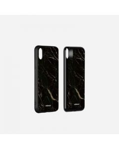 MOMAX Q.POWER PACK MAGNETIC WIRELESS CHARGING CASE 6000MAH (FOR IPHONE XS MAX) MARBLE BLACK 4140111