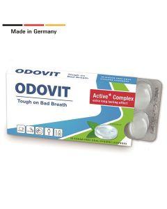 ODOVIT - The Mouthwash On-The-Go - 10 sugar-free oral hygiene lozenges x 1 pack - Tough on Bad Breath 41429