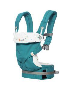 Ergobaby - 四式 360 嬰兒揹帶 - 節日天空 - 藍色