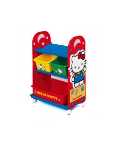 Nishiki Kasei - Hello Kitty Kid Storage Rack with Container 4904121317411