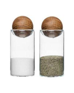 Sagaform - Oak Salt/Pepper Set 5017178