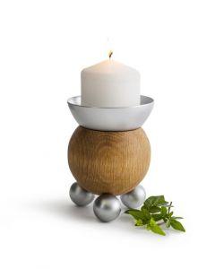 Sagaform - Oak Candle Holder 5017610