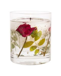 Stoneglow - Nature's Gift Red Rose Natural Wax Gel Candle 杯裝香氛蠟燭 1583-5022