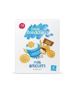 Little Freddie-Organic Milk Biscuits (4 x 20g) X 3 Boxes 5060403113795