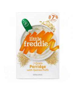 Little Freddie-Organic 7 Grain Porridge with Quinoa Puffs X 3 Boxes 5060403119292