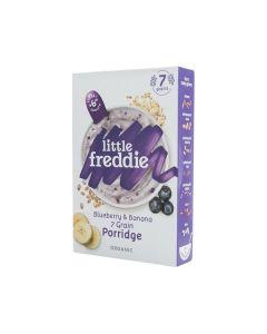 Little Freddie-Organic Blueberry & Banana 7 Grain Porridge X 3 Boxes 5060403119315