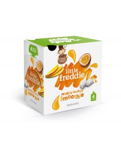 Little Freddie-Organic Mighty Mango Smoothie - Multipack (4x90g) X 2 BOXES 5060403119414