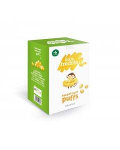Little Freddie-Organic Sweetcorn Puffs (2x20g) X 3 Boxes 5060403119582