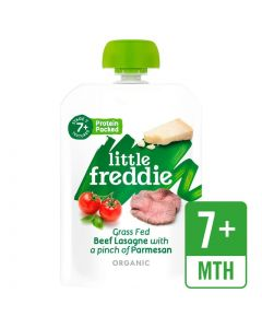 Little Freddie-Organic Grass Fed Beef Lasagne with a pinch of Parmesan (New version) x 3 PC 5060403119766