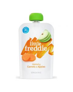 Little Freddie-Organic Homely Carrots & Apples x 6 PC 5060403119889