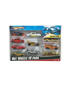 Mattel Games - Hot Wheels® 10 - Car Pack 54886