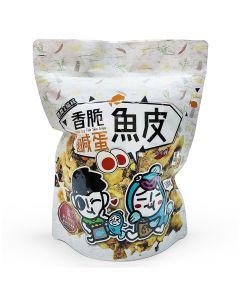 Star Chew - Jiejie & UncleCat Salted Egg Fish Skin Crisps 562805