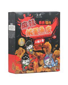 星嚼 - 爵爵&貓叔 - 麻辣魚皮 (100g) 563031