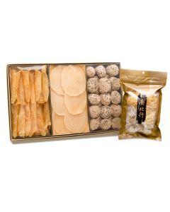 南北行 - 特級花菇&花膠及螺片(送雪耳椰片清潤湯)