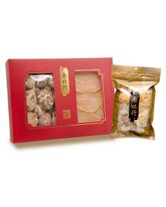 南北行 - 冬菇及螺片禮盒 (送雪耳椰片清潤湯)