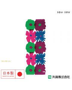 Marushin - 日本今治SOU・SOU 紗織面巾 - おおらかとりどり 6165000700