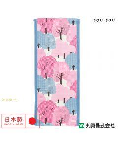 Marushin - 日本今治SOU・SOU 紗織面巾 - 糺の森 6165004600