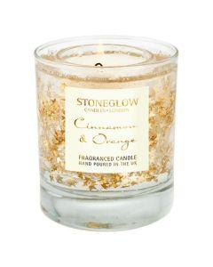 Stoneglow - Twinkle Twinkle Cinnamon & Orange Tumbler 杯裝香氛蠟燭 1583-6166