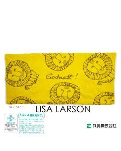 Marushin - Lisa Larson 毛巾枕頭套 (Afrika 系列 - 獅子) 6805006100