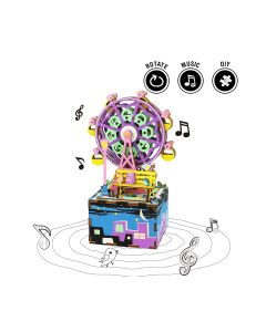 ROBOTIME - DIY Music Box AM402-Ferris Wheel with Tools and English Instruction 6946785108767