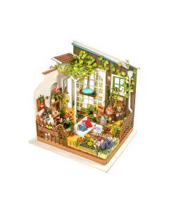 ROBOTIME - DIY Miniature Doolhouse Kit DG108-Miller's Garden 6946785164008