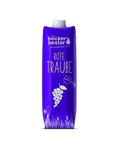 Beckers Bester - 100%直壓非濃縮無過濾紅葡萄汁1L 88402