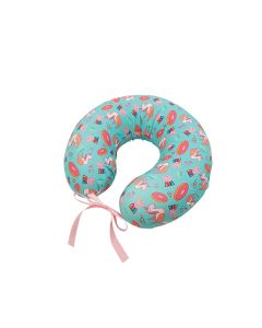 UBREATHING Peppa Pig 乳膠旅行頸枕(淺藍) 8850001223852