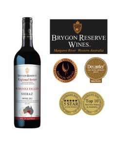 Brygon Reserve Wines - Regional Series Shiraz 2012 9346836000625-1