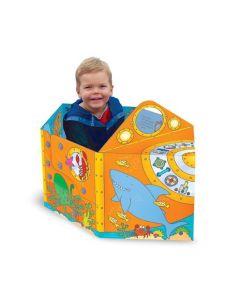 Miles Kelly - 可折疊立體變形紙板玩具書: 變形潛水艇